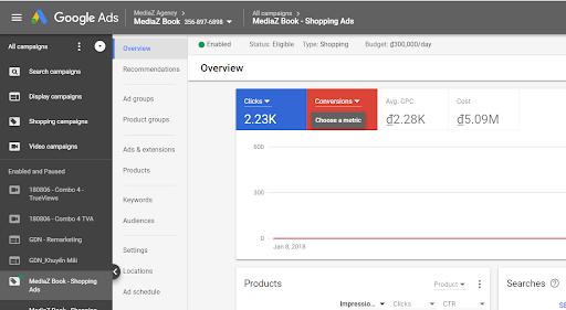 Lựa chọn chiến lược giá thầu hiệu quả trên Google Shopping 4