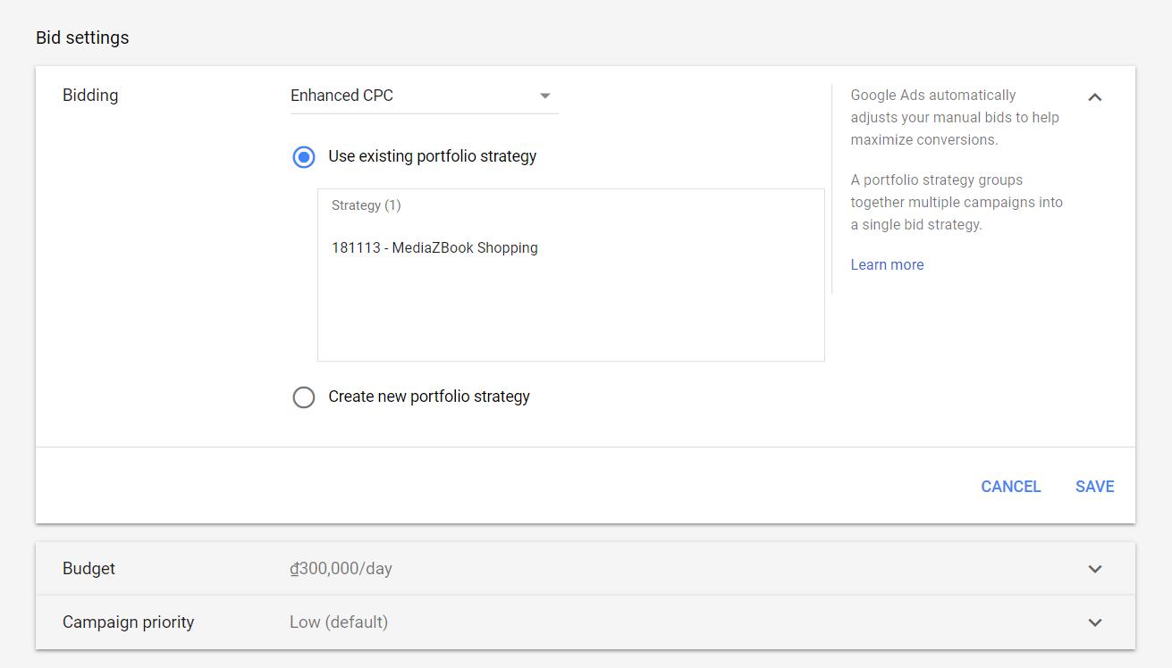 Lựa chọn chiến lược giá thầu hiệu quả trên Google Shopping 5